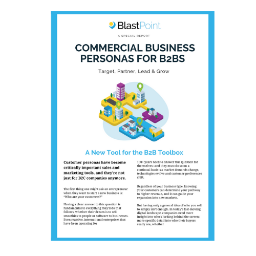 Commercial Business Personas 2020 Report